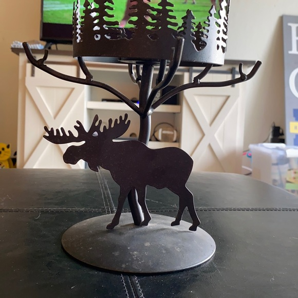 PartyLite Forest Friends Moose Candle Holder